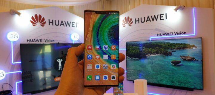 Get faster and better connection using 5G on the Huawei Mate 30 Pro 5G.