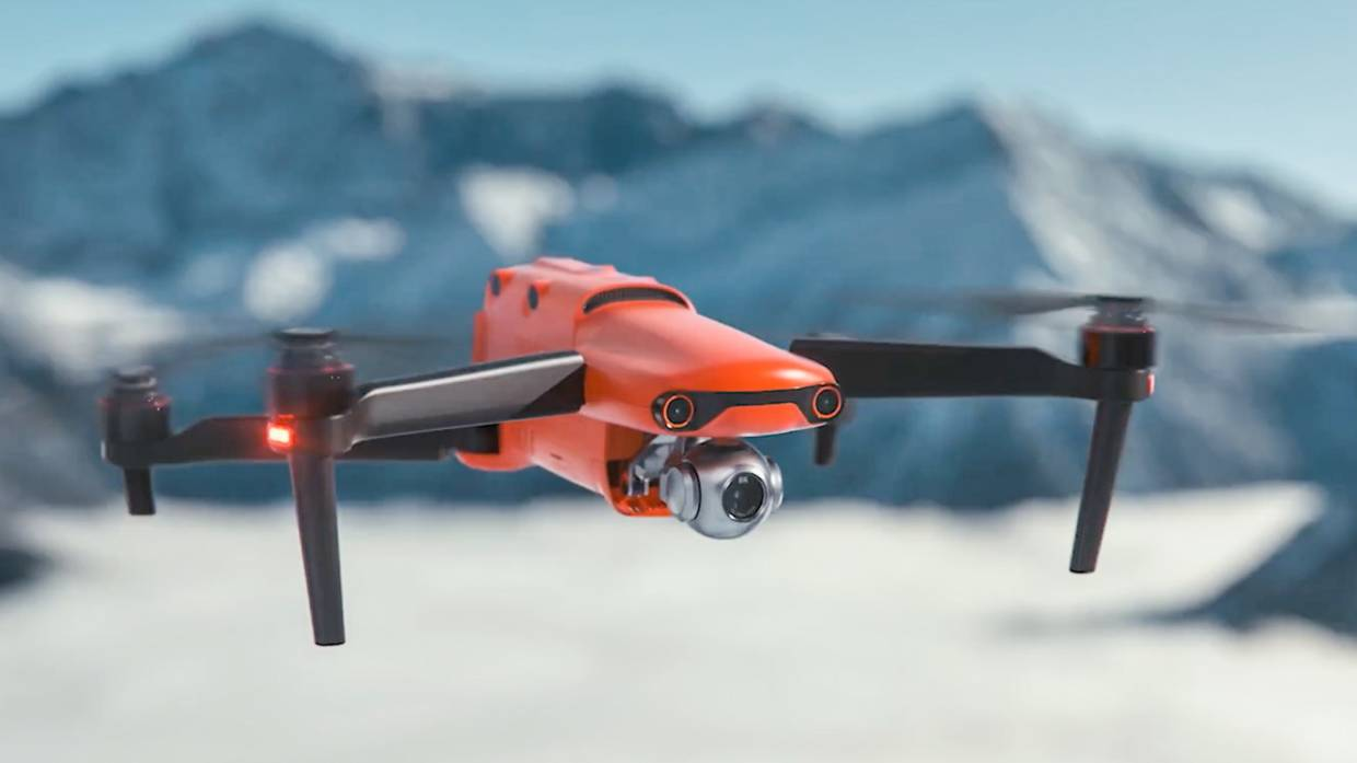 Autel Drones claims the Evo II is the first drone on the market equipped with an 8K resolution camera. — Autel Drones