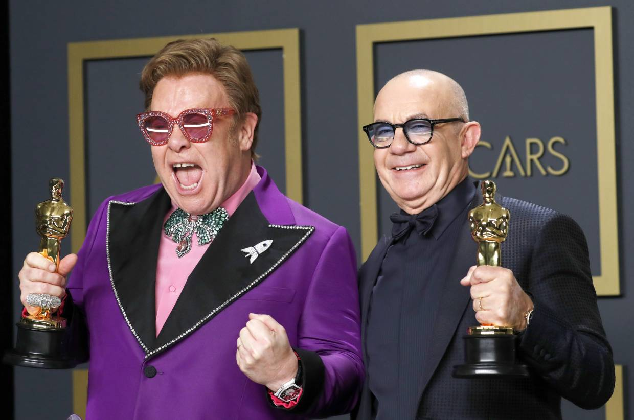 Elton John and Bernie Taupin won for Best Original Song for