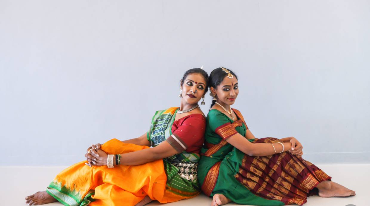 Sandhya Manoj (left) and Krithika Ramachandran star in 'Prerna... The Inspiration', a dance drama about autism. Photo: Yas Photography