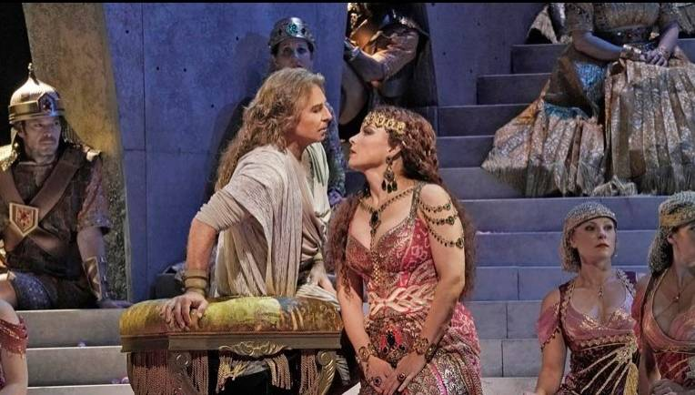 The opera film 'Samson & Delilah' by the Metropolitan Opera in New York. Photo: Handout