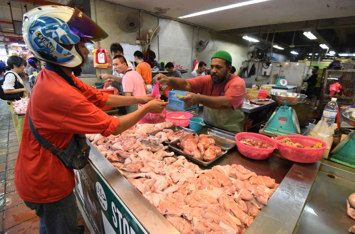 Meat, poultry and seafood can sometimes harbour bacteria like salmonella that can be harmful to humans. — Filepic