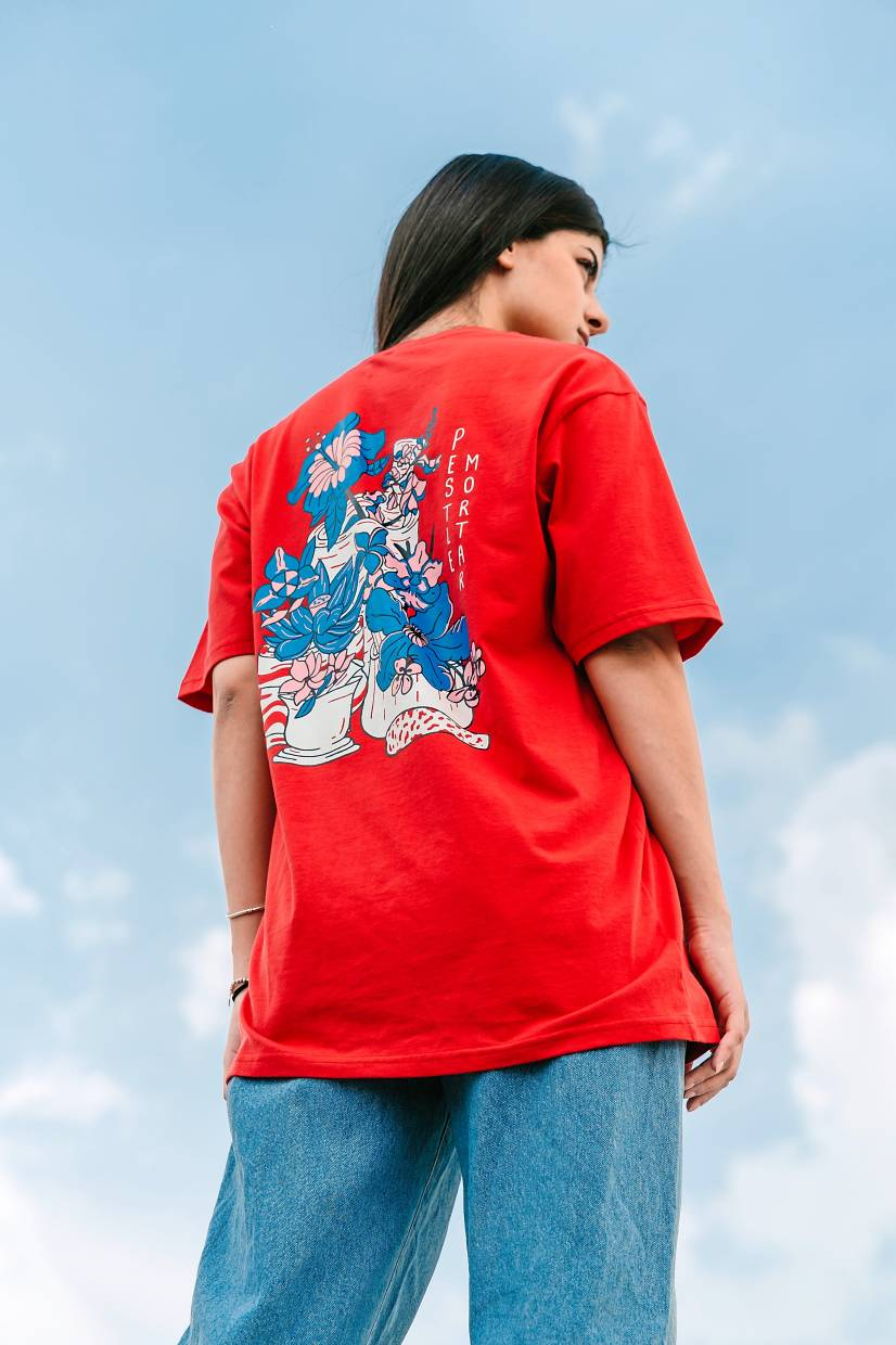 The 'PMC x AirAsia: S.E.A. Pride' collection comprises T-shirts and other accessories.