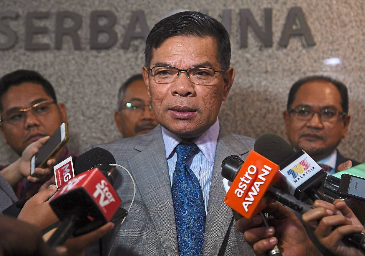 Denying claims: Saifuddin says no such SDs exist.