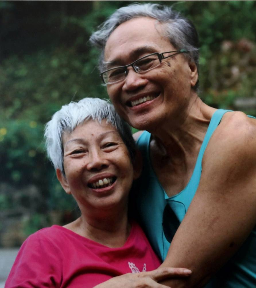 Even after 45 years of marriage, Dr Khairuddin and Khairiah say 'I love you' all the time.
