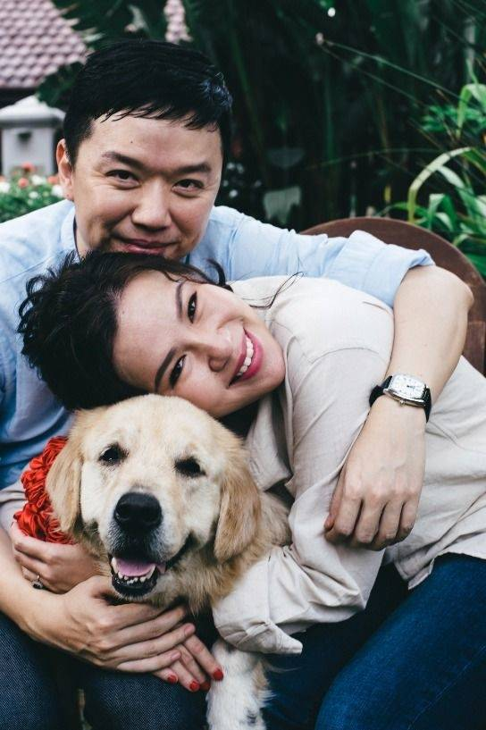 A dog guy, Tan swiped on Yan's profile after assuming she had a dog too, based on a photo on Tinder. — Yan Lai Peen