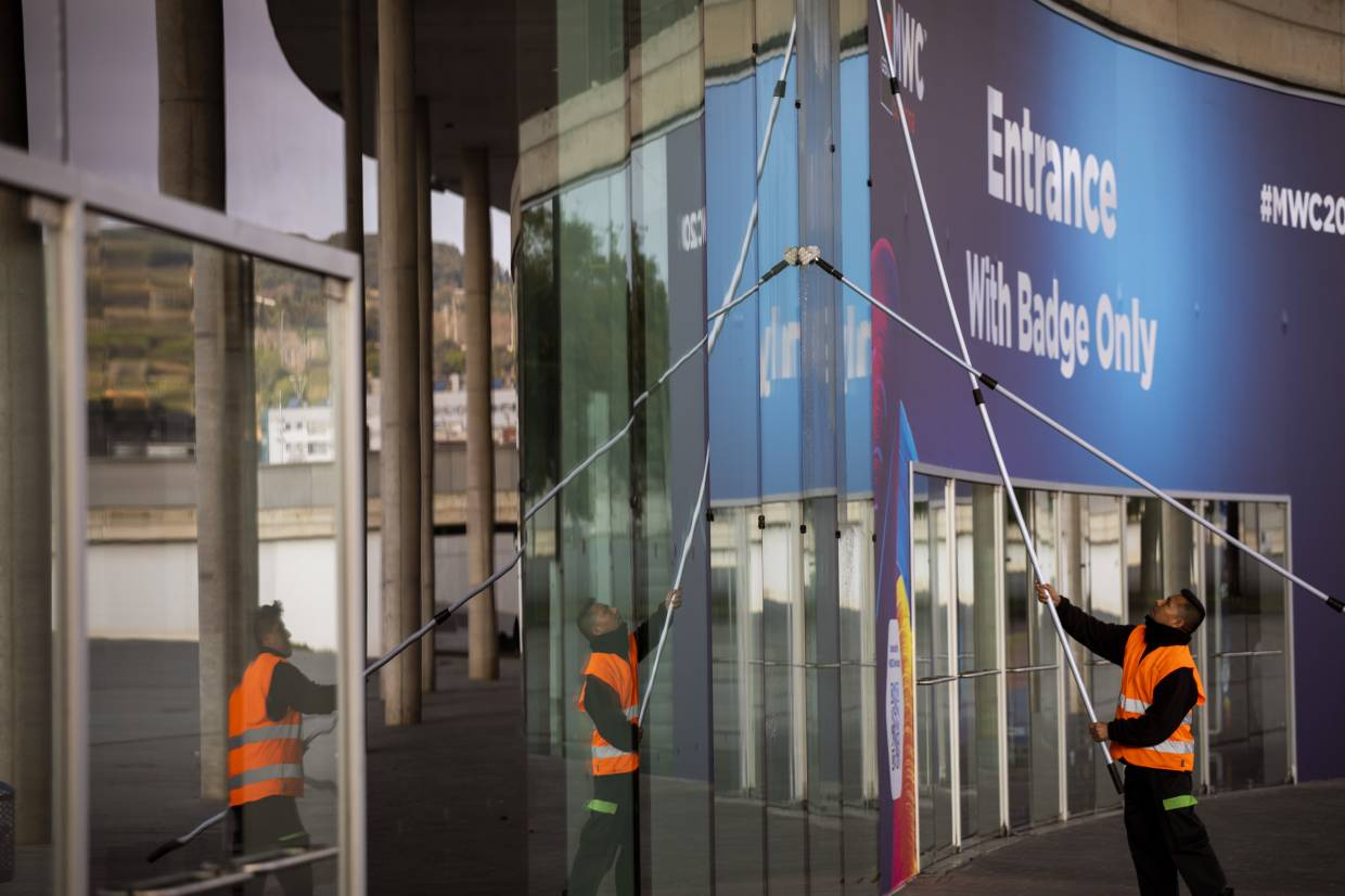 Even European conferences like Mobile World Congress (MWC) 2020 were not safe from the virus, as health and travel concerns forced its organisers GSMA to cancel the huge mobile technology event scheduled to run from Feb 24-27. — AP