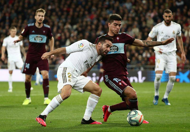 Football Leaders Real Madrid Held To Draw By Late Celta Strike