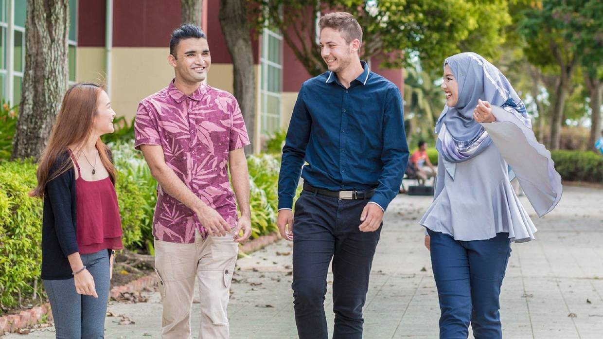 A majority of Curtin students reported that they are comfortable and happy with their experience.