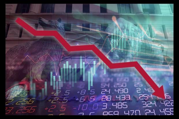 market DOWN 23april2018
