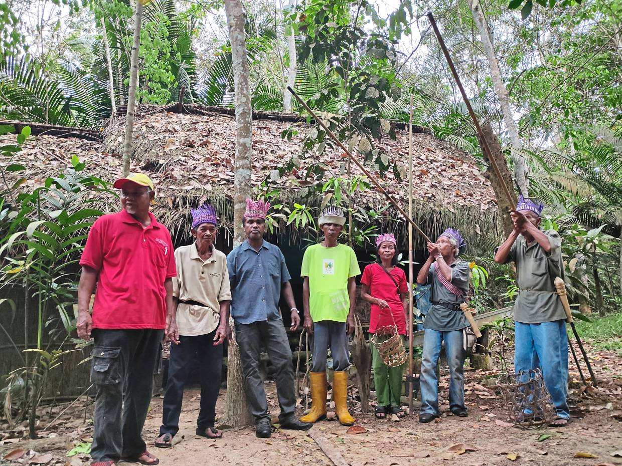 Some 2,000 Temuan Orang Asli rely on the Kuala Langat North Forest Reserve for their livelihood. — Photo courtesy of GEC 2020