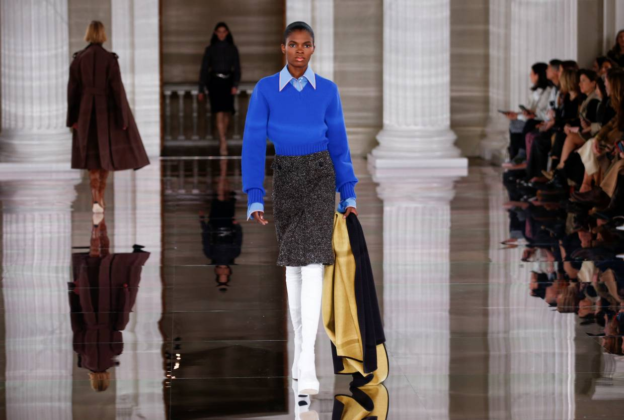 The Victoria Beckham Autumn/Winter 2020 collection's aesthetic is all about individuality.