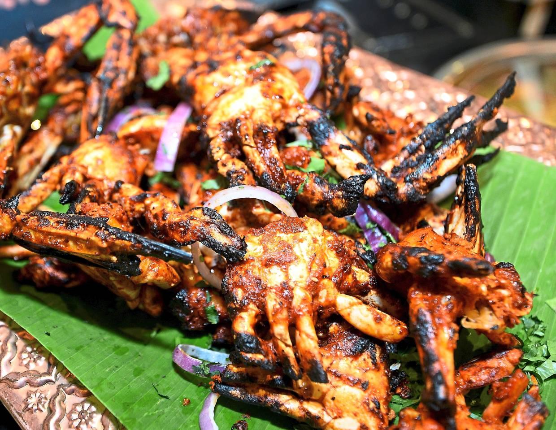 Crab Tandoori