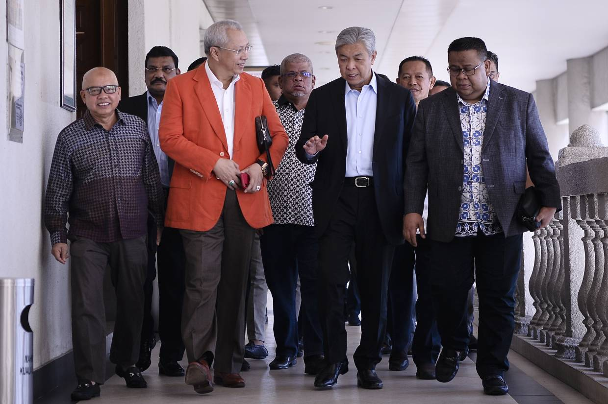 Purpose of cheque for Zahid amended from 'consultation fee' to 'charity', witness tells court