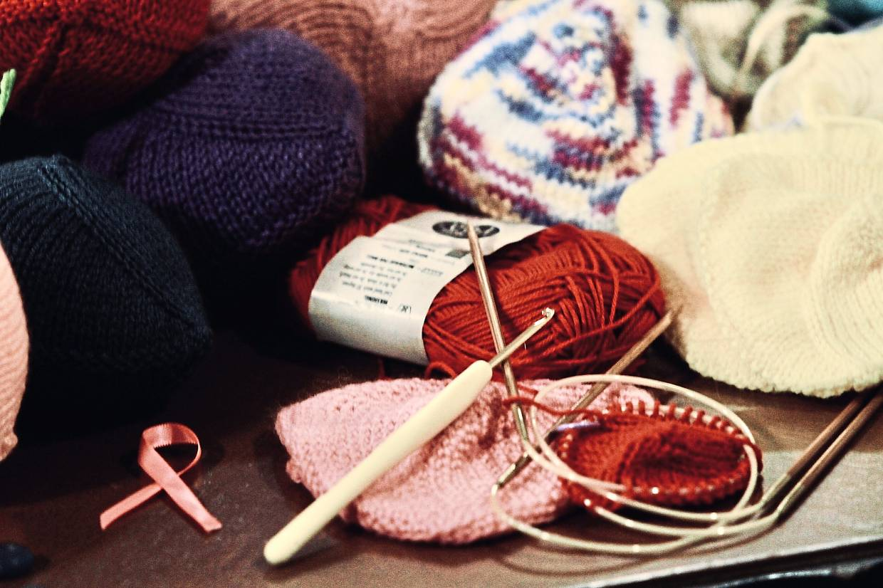 Knitted breast prostheses are soft and comfortable compared to silicone ones that can get heavy. Photo: The Star/Low Lay Phon
