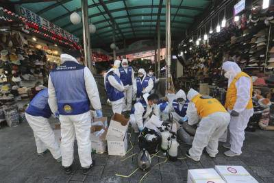 Covid-19 cases spike in South Korea