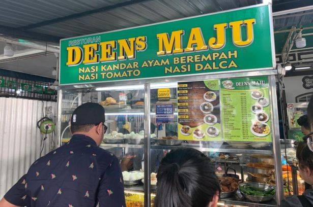 It was just a RM50 compound, we're still open for business, says nasi kandar outlet