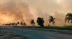 Firemen struggling to contain fires in Kuala Baram and Miri