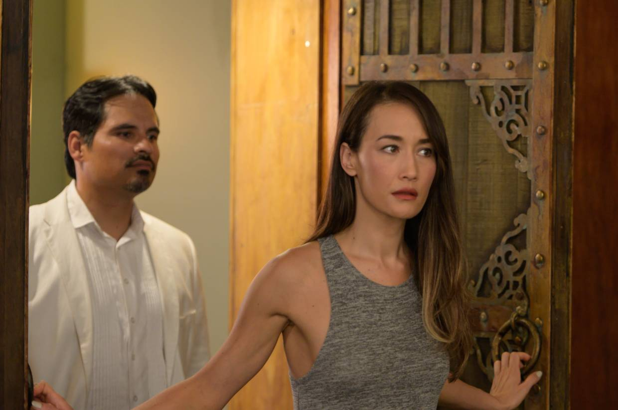 'Fantasy Island' also stars Michael Pena, an actor Maggie Q says she admires.