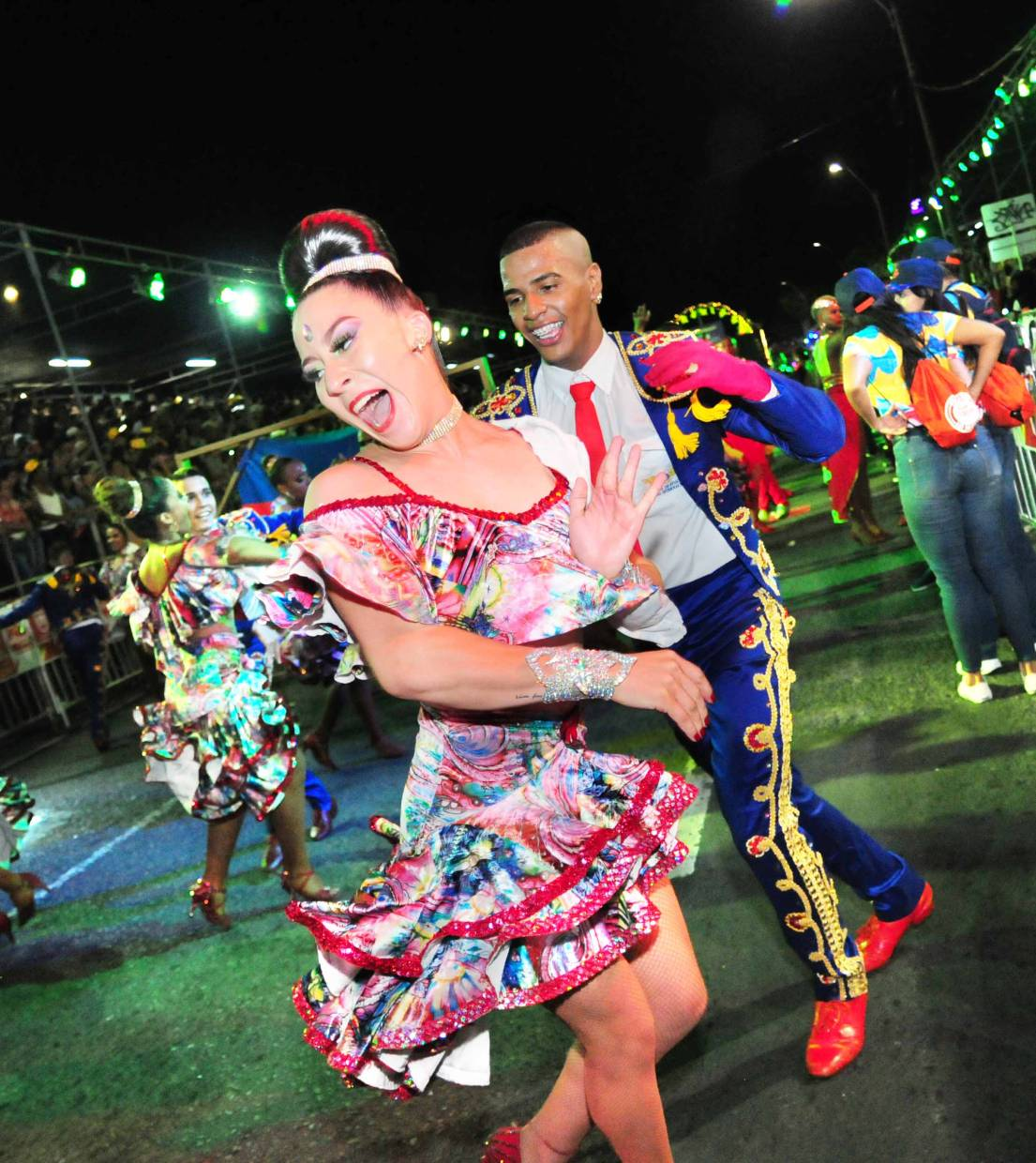 Cali is known as Colombia's 'capital of salsa'.