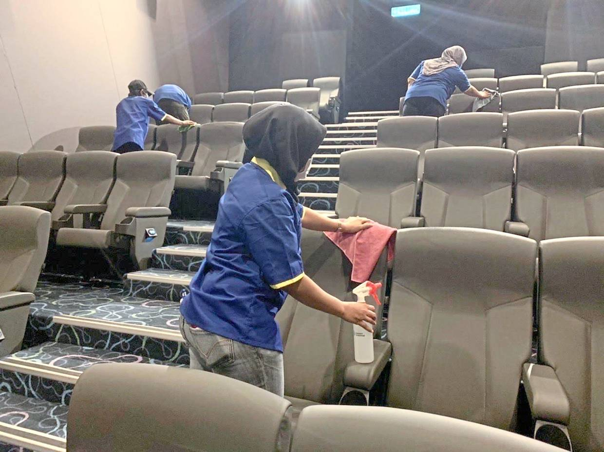 Covid-19: Local cinema operators take extra cleaning measures ...