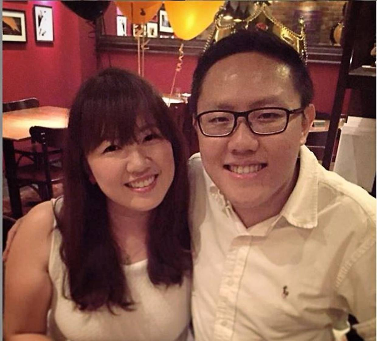 Lim says since meeting his wife, she never misses the chance to celebrate his birthday, regardless of the year.