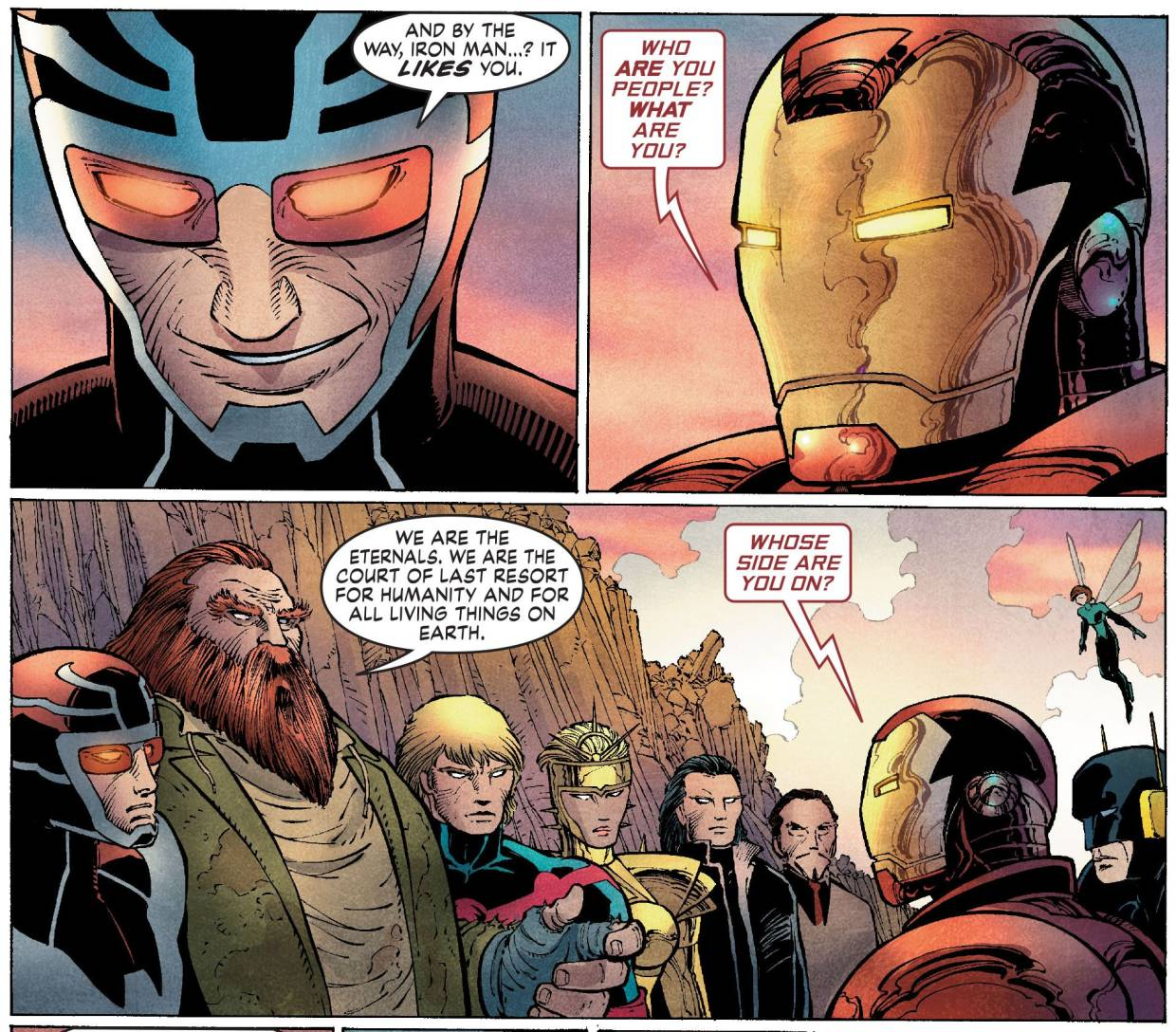 Ah, if only Iron Man were still alive in the MCU; we could have had scenes like this one.