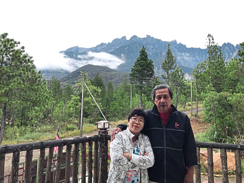 Chiah and her husband Ang Seng Hin will be looking at more travels within Malaysia this year. — CHIAH LAN YOOK