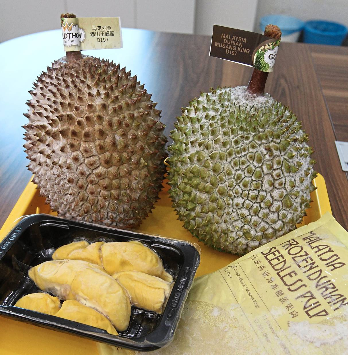 Fruitful endeavour: The durian exporter has enjoyed good growth so far with its fruits and ingredient supply business.