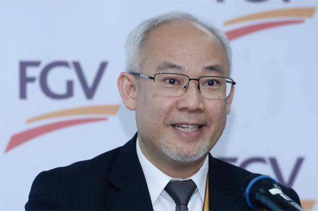Group chief executive officer Datuk Haris Fadzilah Hassan(pic) said he was pleased to report the quarterly net profit, which was achieved on the back of FGV's aggressive transformation programme