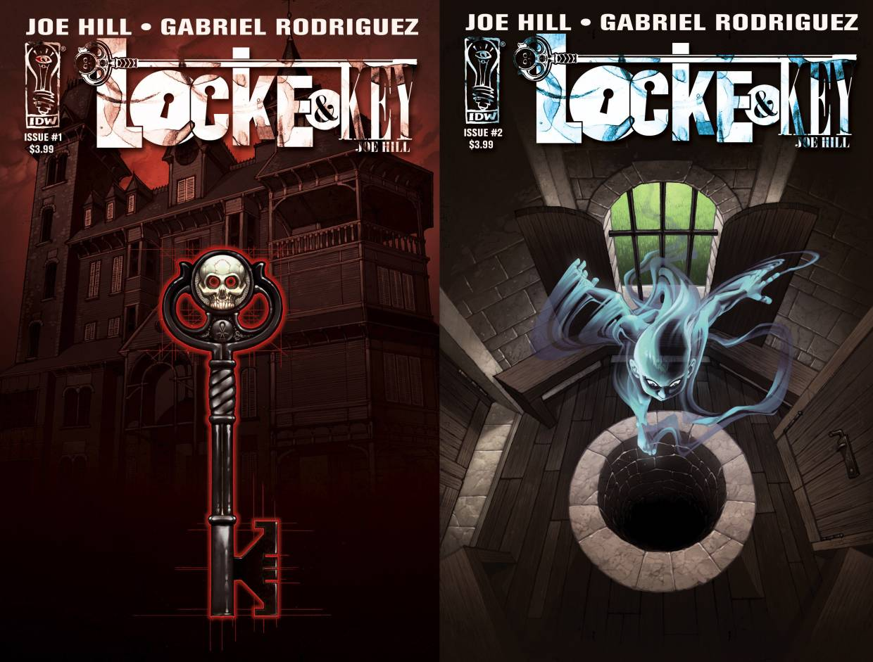 Locke & Key began with a six issue mini-series in 2008.