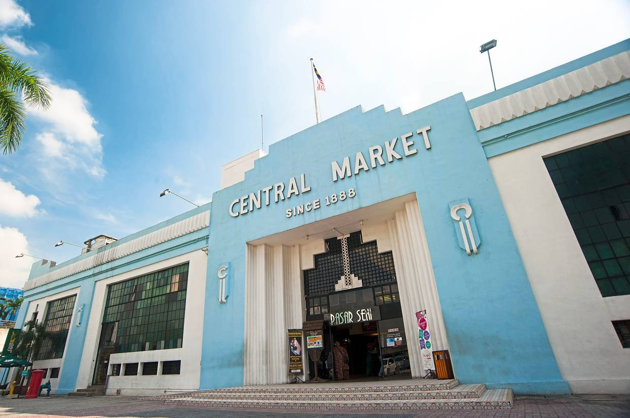 A walk around KL's Central Market offers travellers a glimpse into the diverse history and culture of Malaysia. Photo: Tourism Malaysia