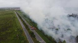 24-hour surveillance to monitor wildfire hotspots in Miri, Kuala Baram