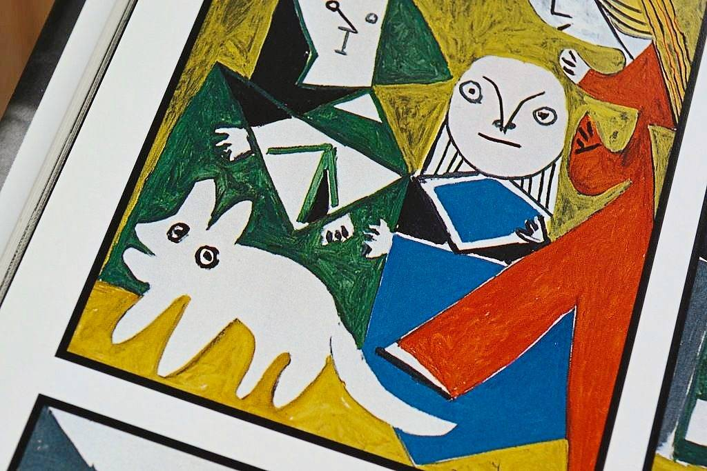 Picasso famously painted his pet dog prolifically.