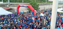 Celebrating FT Day with fun walk at Saloma Link