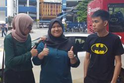 Activist Fadiah, three others at Dang Wangi over Dataran Merdeka rally
