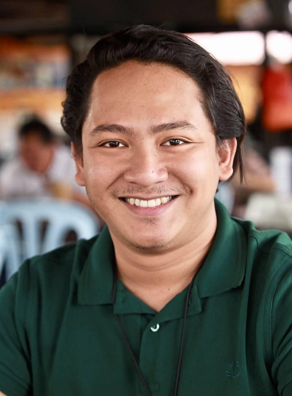 Abrisam believes in keeping things rustic at Warung Kita.
