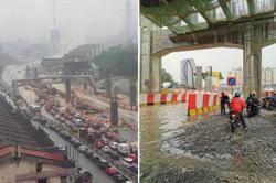 Flash floods cause gridlock on MRR2