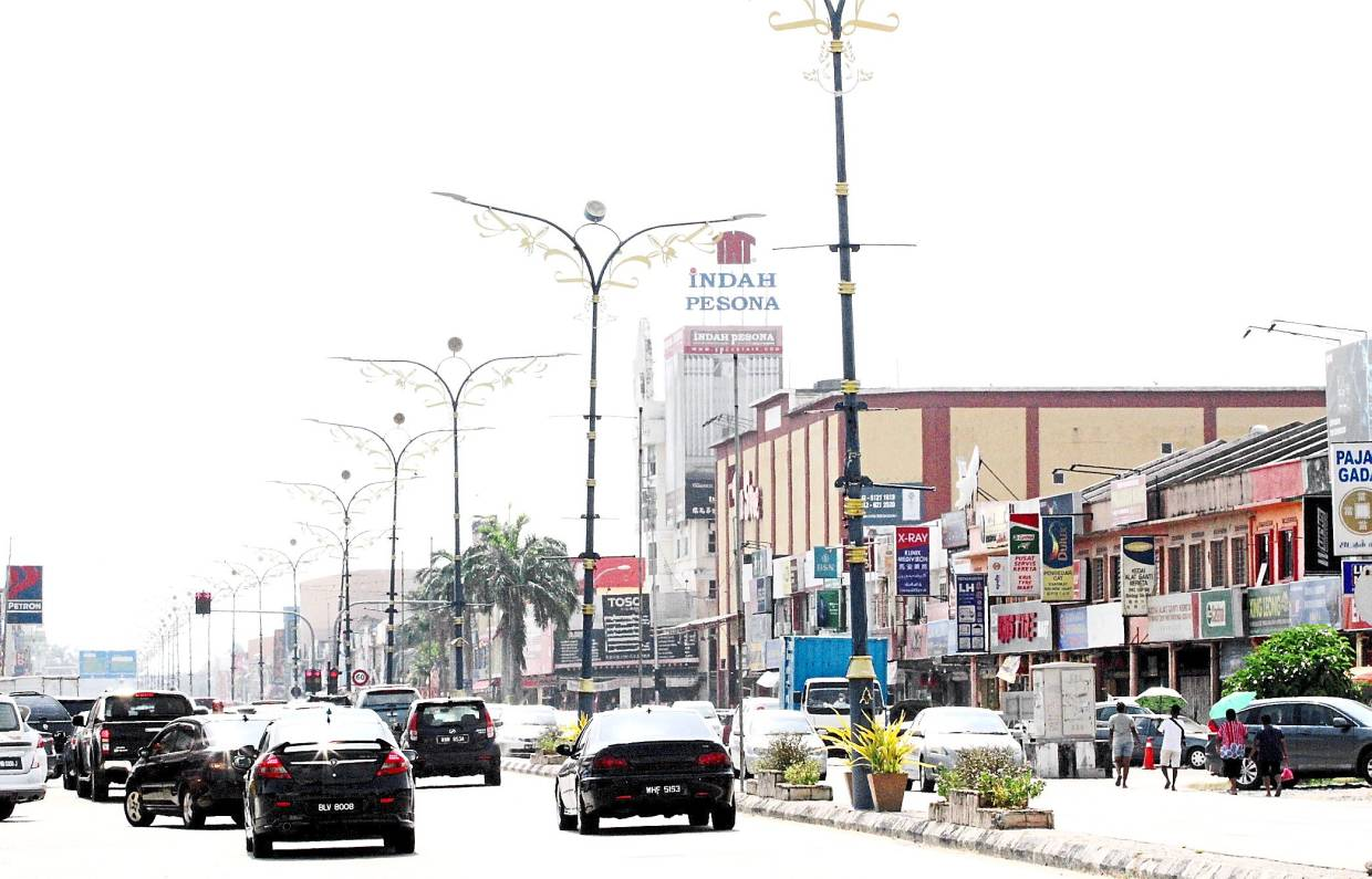 The main part of Banting town in Kuala Langat, which is now a municipality. — KK SHAM/The Star
