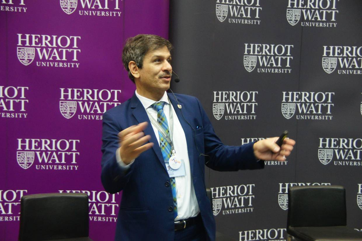 Heriot-Watt University Malaysia provost and chief executive officer Prof Mushtak Al-Atabi is a passionate educator, innovator and agent of change who pioneered one of the first Massive Open Online Courses (MOOCs) in Asia (the very first in Malaysia) in 2013 and has authored several publications, among them 'Think Like an Engineer' and 'Driving Performance'.