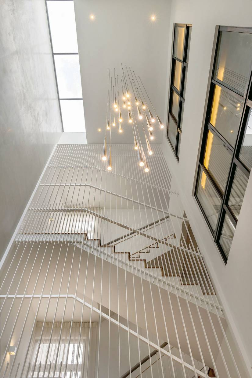 Light House in 257 is creatively designed to maximise natural lighting and ventilation within the home.