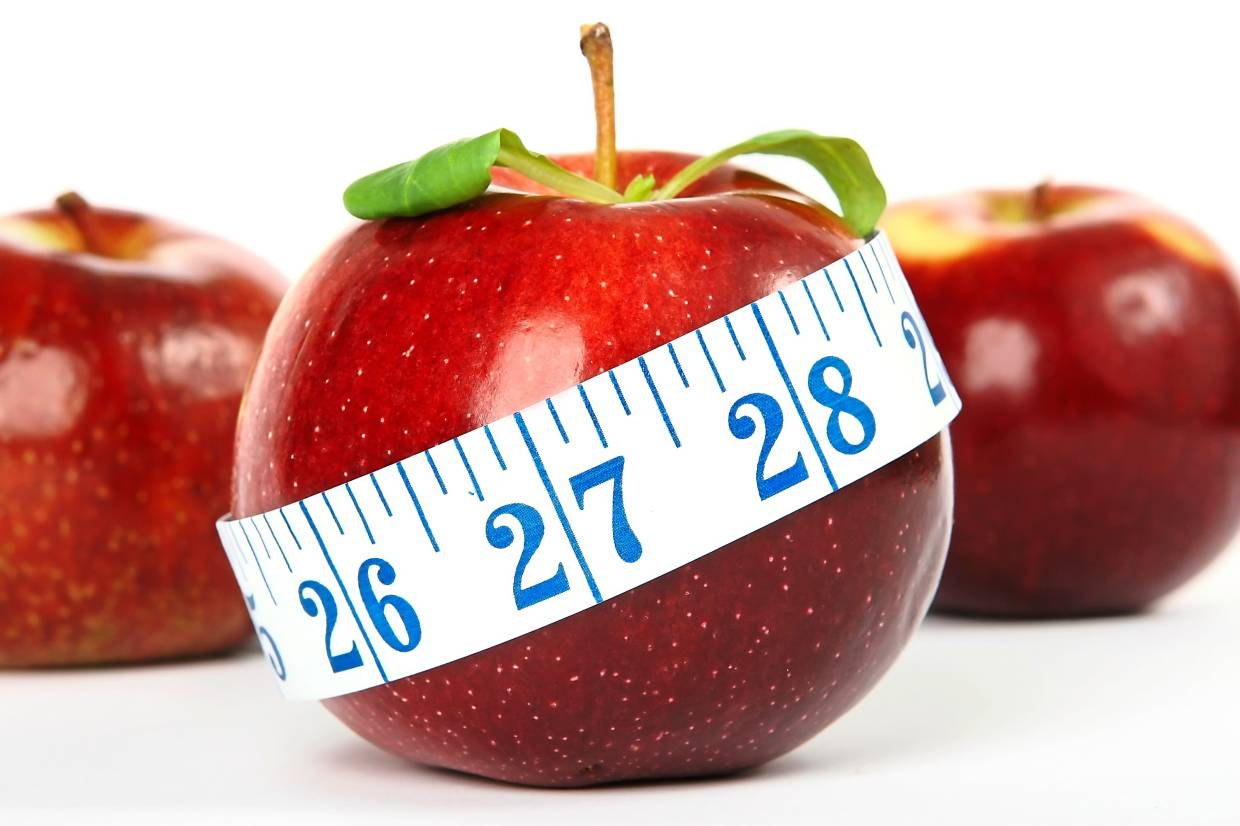 Take out your old-fashioned measuring tape and measure the parts of your body you want to see change in.