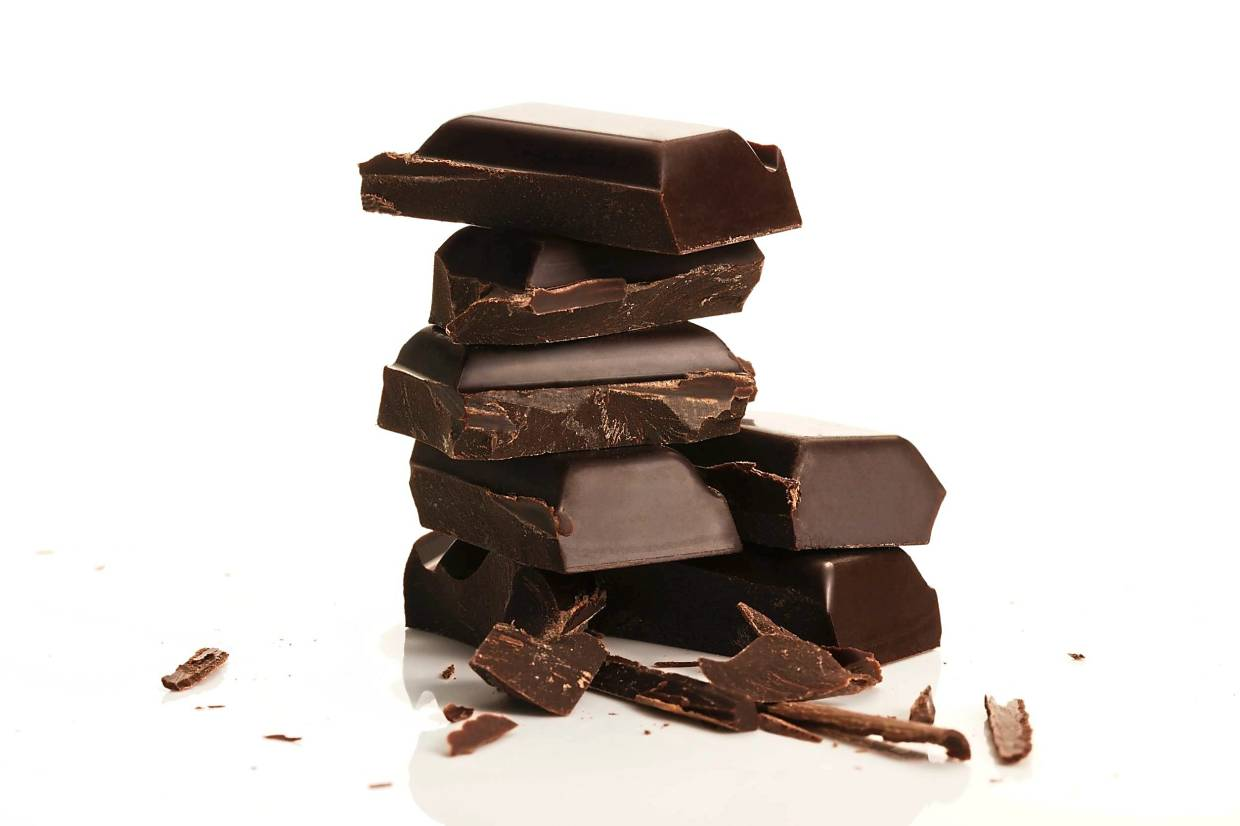 Dark chocolate is a good source of magnesium. — AFP