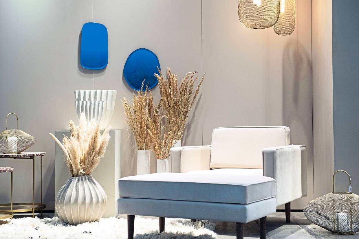 The trend towards bright, friendly Scandinavian-style furnishings is slowly fading – and reinterpreted with new influences.