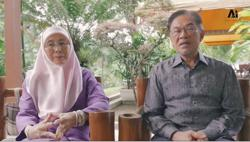 Anwar, Dr Wan Azizah call for calm over Covid-19 on Facebook
