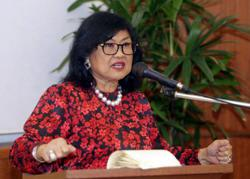 Rafidah criticises ingrates, 'chameleon politicians'