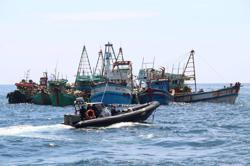 Indonesia detains 'illegal' Vietnamese fishing boats