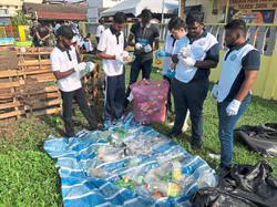 Recycling corner encourages better waste management