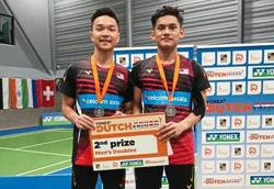 Haikal will be looking to make amends in boys' doubles