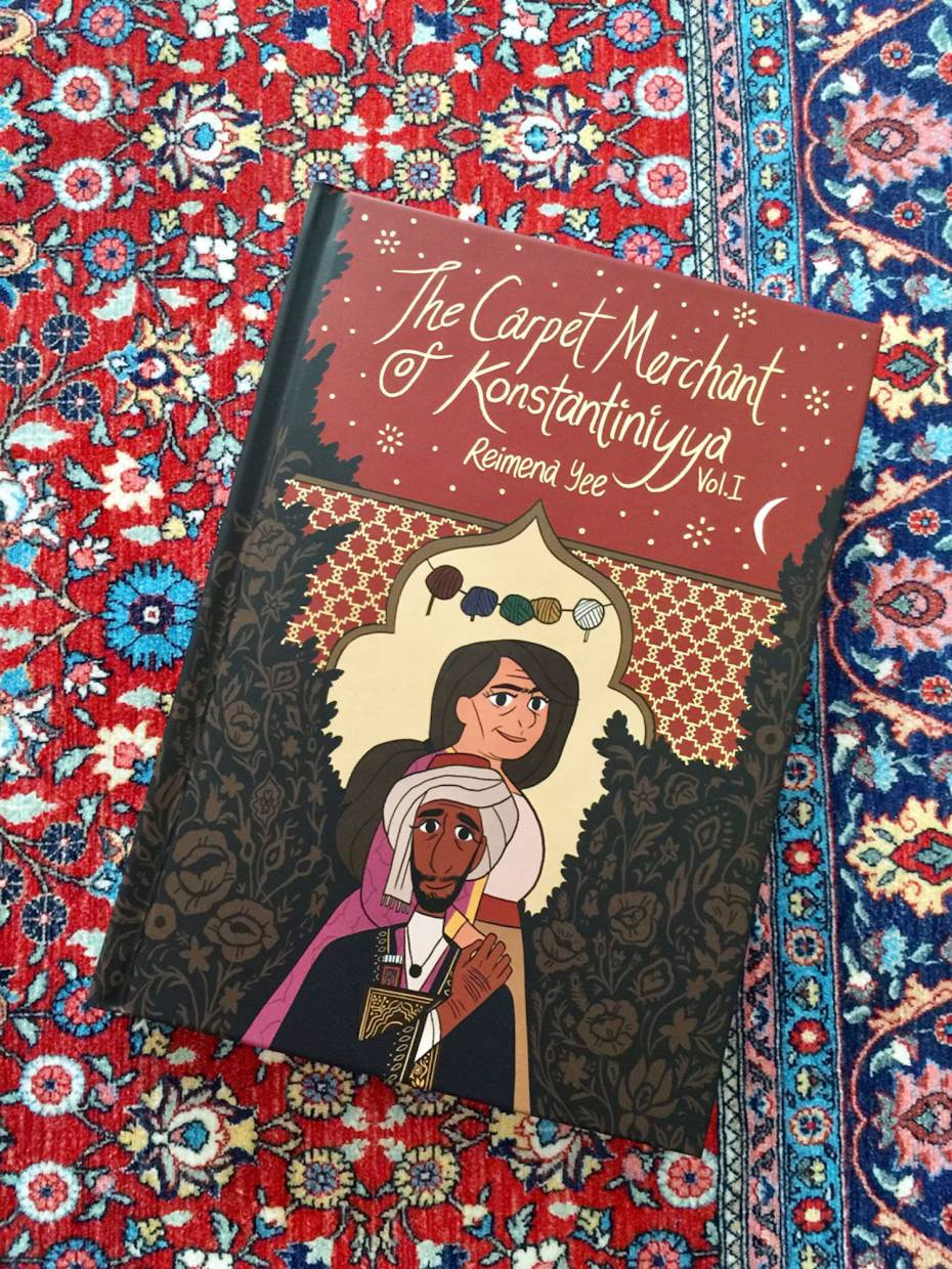 Yee's The Carpet Merchant of Konstantiniyya has just been released in a brand new hardcover edition with updated contents.